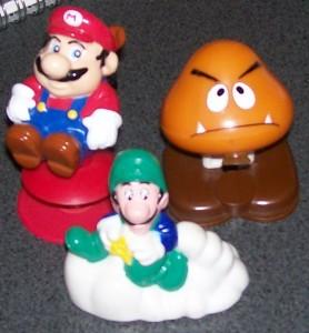 1989 Mario Mcdonalds Toys