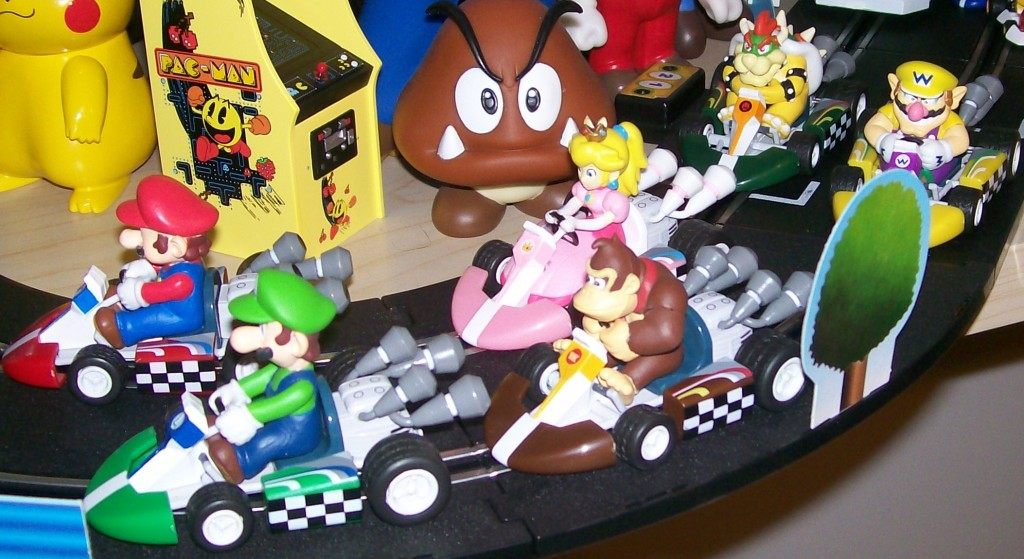 they look good on the Mario Kart DS race speed race set
