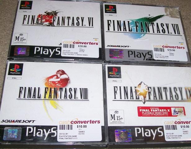 Final Fantasy 6 7 8 9