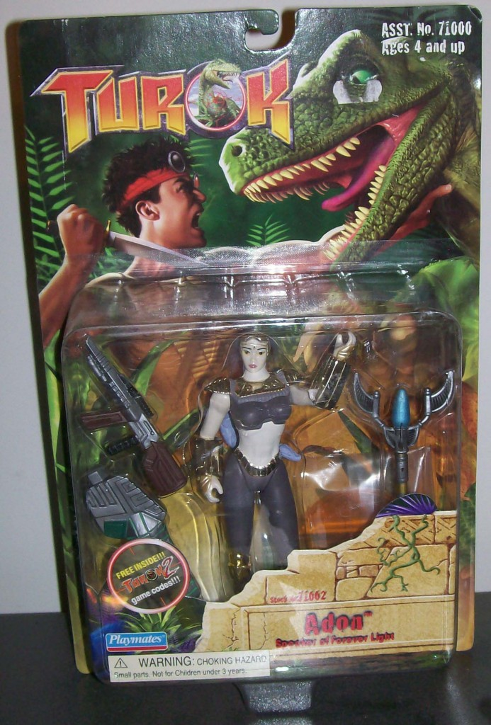 Turok Figure Adon complete in box