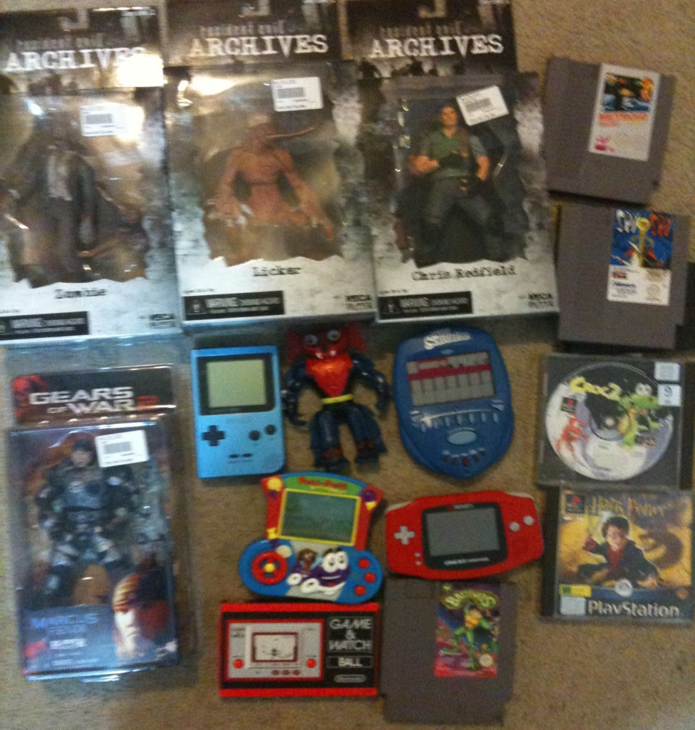 resident evil toys, gameboy advance and pocket, game & watch reproduction