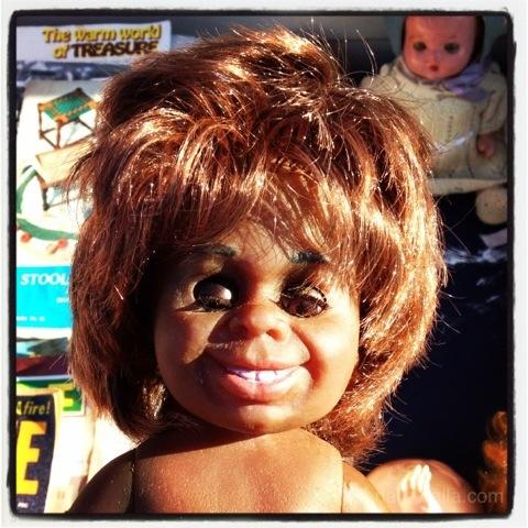 Ugly Islander doll