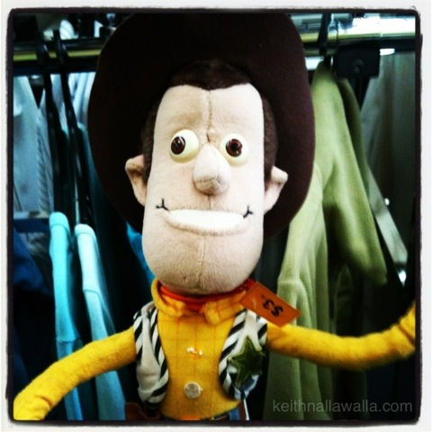 Ugly soft Toy Story Woody doll
