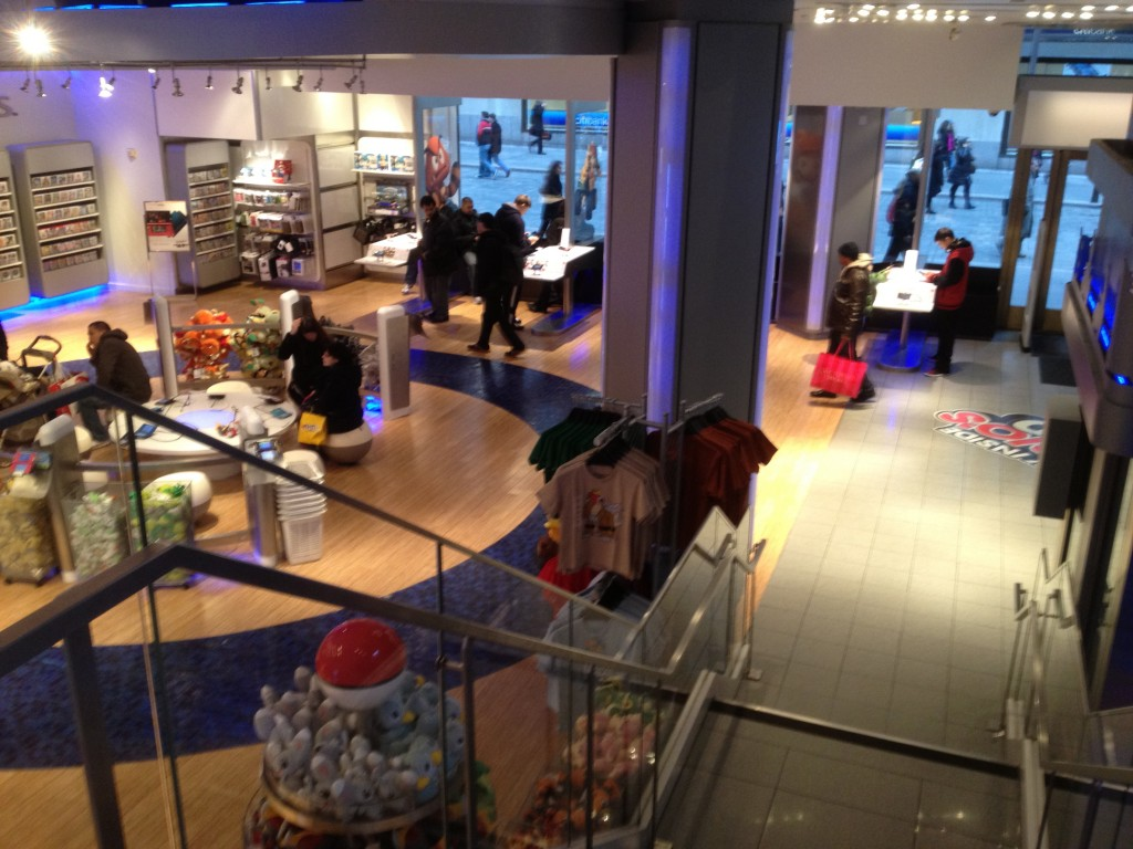 Nintendo World Store Pokemon Center ground floor