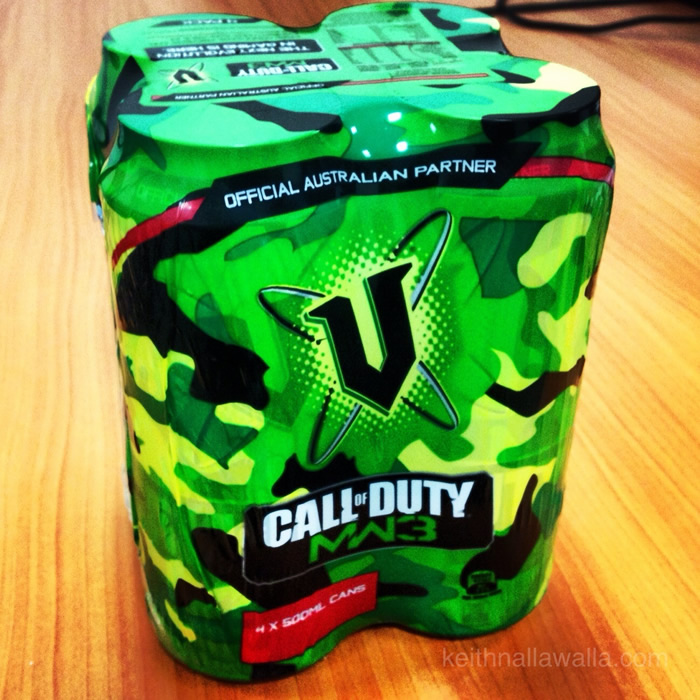 COD Modern Warfare 3 V cans 4-Pack