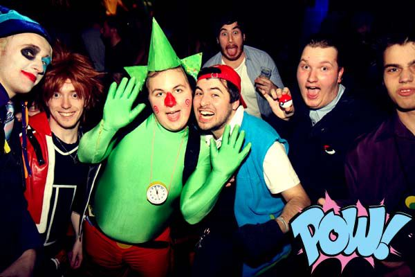 Sora, Tingle, Ash, Gary Oak Cosplay