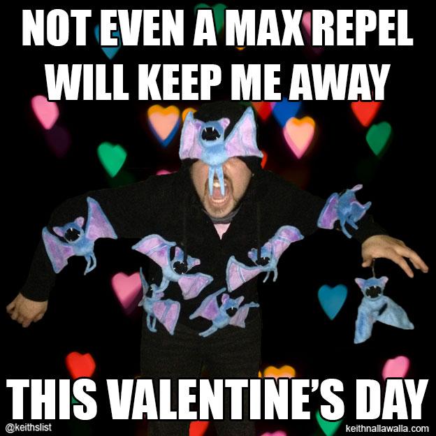 Zubat Mount Moon Valentines Day Meme