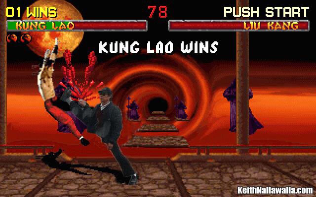 Mortal Kombat Kung Fu Bus Driver