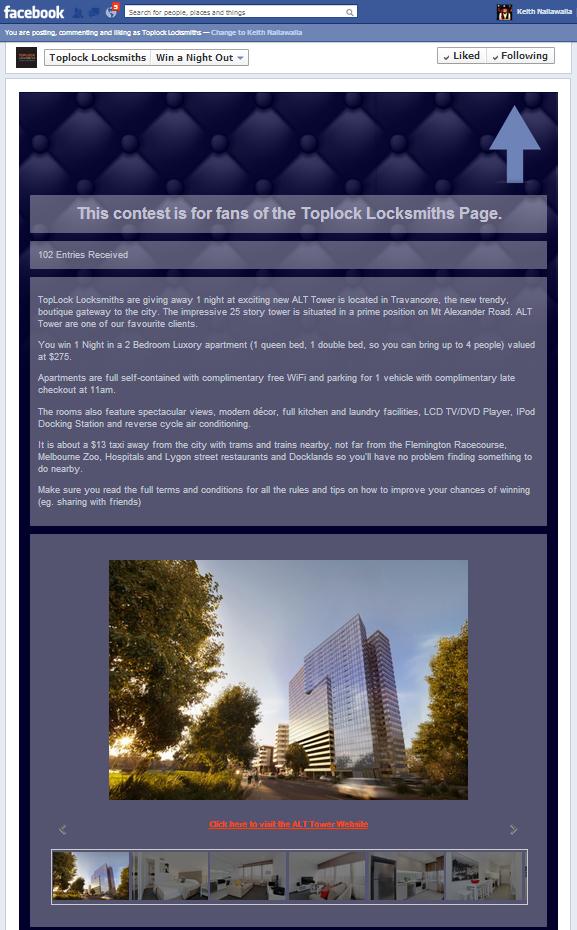 Toplock ALT Tower app contest